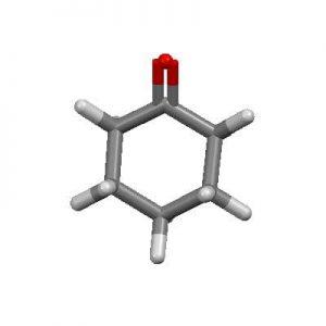 ساختار شیمیایی سیکلوهگزانون