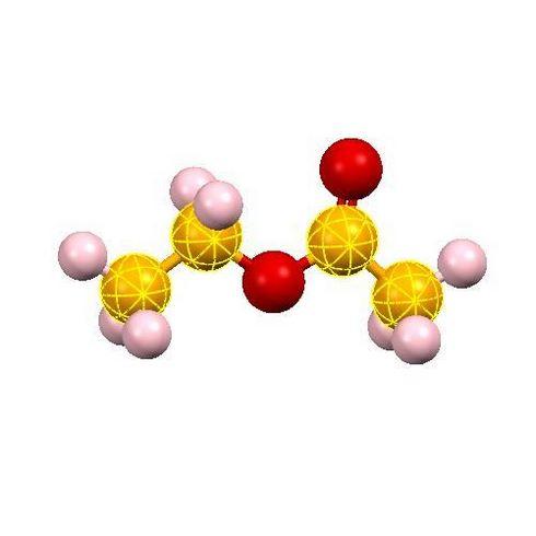 ساختار مولکولی اتیل استات